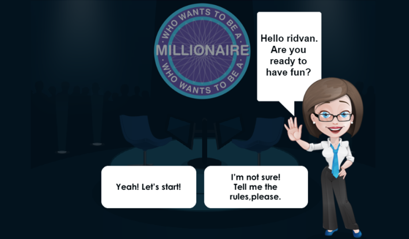 Millionaire - e-learning game adaptation