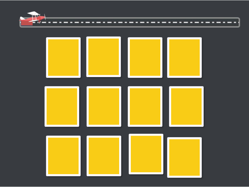 memory game created with Articulate Storyline 3